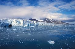 Glacier royalty free stock images