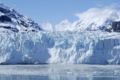 The Glacier. The majestic glacier in Glacier Bay national park, Alaska stock images