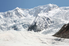 Glacier. Midui glacier, shot in Tibet of China Stock Image