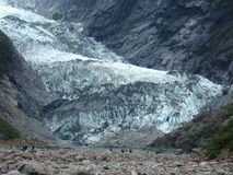 Glacier. Franz Josef Glacier, The Coast, New Zealand Royalty Free Stock Photos