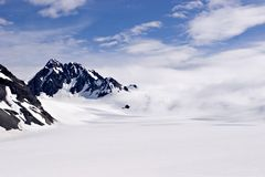Glacier. Godwin Glacier in Seward, Alaska Stock Photography