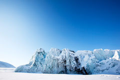 Glacier Royalty Free Stock Photography