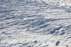 Glacier - aerial view Stock Images