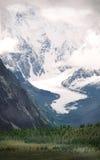 Glacier �ajoyi. Altai. Glacier �ajoyi (Masha) .2006 year Stock Photos
