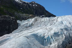 A glacier in alaska. Stock Images