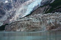 Glacier on Alaska Stock Photography
