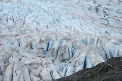 Glacier in alaska Royalty Free Stock Photos