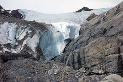 A glacier in alaska Stock Photo