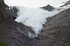 A glacier in alaska Royalty Free Stock Photo
