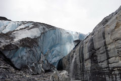 A glacier in alaska Stock Images