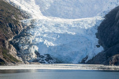 Glacier Alley - Patagonia Argentina. Cruising in Glacier Alley - Patagonia Argentina - Landscape of beautiful mountains, glaciers and waterfall Stock Photography