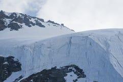 Glacier in Alps Royalty Free Stock Photos