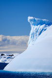 Glacier antarctique Photos libres de droits