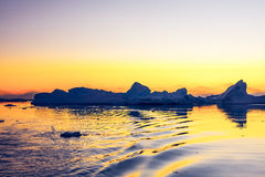 Glacier antarctique Photos libres de droits