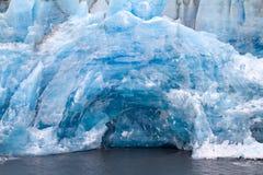 Glacier arctique secteur Novaya Zemlya Image stock