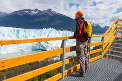 Glacier in Argentina Royalty Free Stock Photography