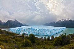 Glacier, Argentina, South America Royalty Free Stock Images