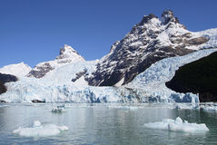Glacier, Argentino Lake. In Patagonia (Argentina Stock Photos