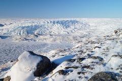 Glacier au Groenland Photographie stock