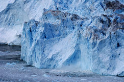 Glacier au Groenland 4 Photographie stock