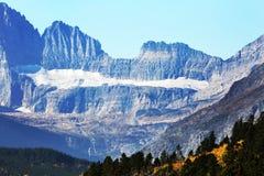 Glacier au parc national de glacier Photographie stock