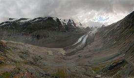 Glacier in austrian alps Royalty Free Stock Photo