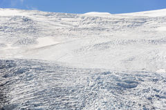 Glacier in the Austrian Alps in summer Stock Images