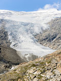 Glacier in the Austrian Alps in summerross Stock Photos