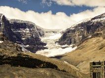 Glacier, Banff, Canada. Glacier along Icefields Parkway, Banff, Canada royalty free stock image