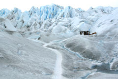 Glacier whisky bar, Patagonia, Chile Royalty Free Stock Images