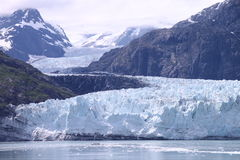 Glacier Bay. Glacier inside Glacier Bay national Park, Alaska Royalty Free Stock Photography