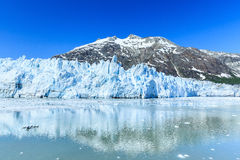 Glacier Bay, Alaska. Margarie Glacier in Glacier Bay National Park, Alaska Royalty Free Stock Images
