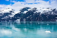 Glacier Bay in Alaska, United States. Glacier Bay in Mountains in Alaska, United States Royalty Free Stock Images