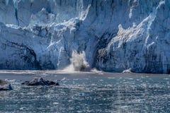 Glacier Bay escénico fotos de archivo