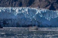 Glacier Bay escénico en Alaska imagenes de archivo