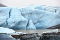 Glacier in bay Royalty Free Stock Photos