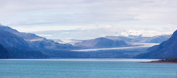 Glacier Bay-Landschaft Lizenzfreie Stockfotos