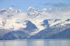 Glacier Bay mountains Royalty Free Stock Image