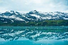 Glacier Bay in Mountains in Alaska Stock Photos