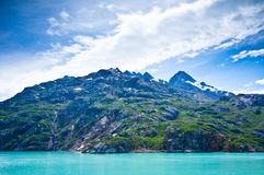 Glacier Bay in Mountains in Alaska Royalty Free Stock Photography