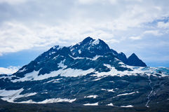 Glacier Bay in Mountains in Alaska Stock Image