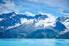 Glacier Bay in Mountains in Alaska Stock Photos