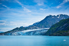 Glacier Bay in Mountains in Alaska Stock Photography