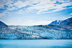 Glacier Bay in Mountains in Alaska Royalty Free Stock Images