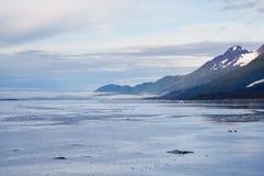 Glacier Bay National Park. Landscape photo of Glacier Bay National Park taken from a cruise ship Stock Image