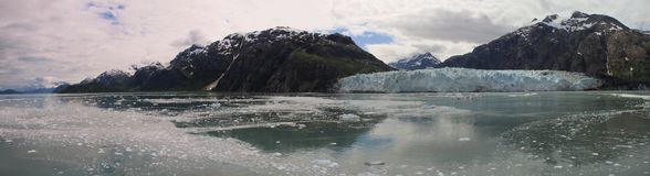 Glacier Bay panorama Stock Images
