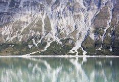 Glacier Bay-Ufer Lizenzfreies Stockbild