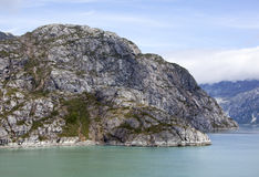 Glacier Bay-Wasser-Durchgänge Lizenzfreies Stockfoto