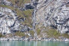 Glacier Bay Waterfalls Stock Photography