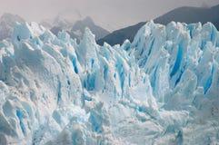 glacier bleu argentin image libre de droits